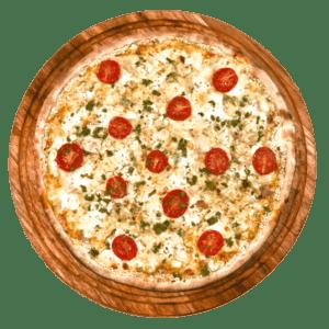 Blue Vein Garlic Chicken Pizza