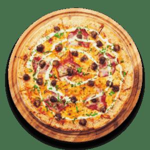 Meaty Macho Pizza